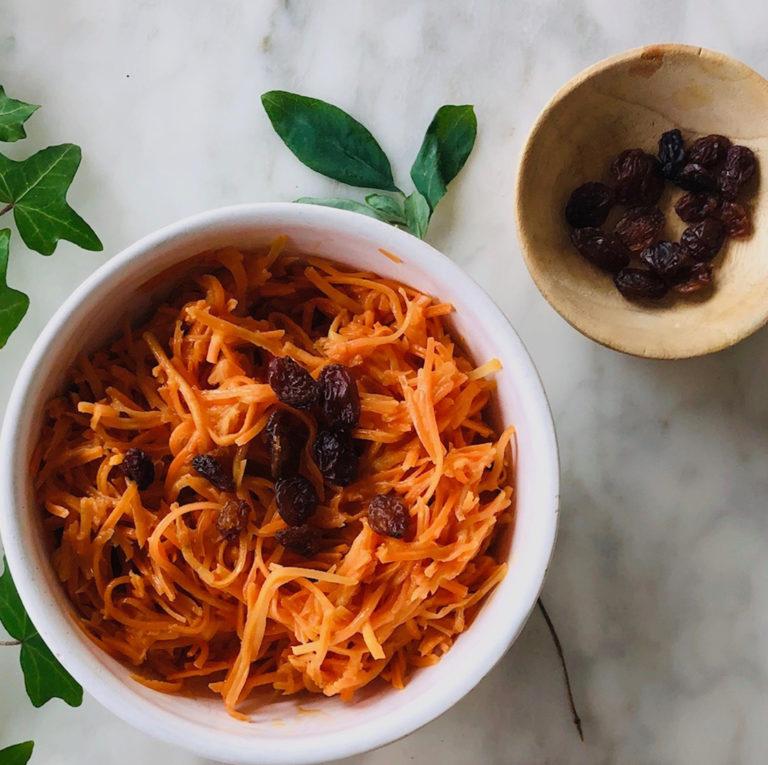 salade carotte raisins secs